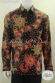 Baju Batik Tulis Klasik Mewah Lengan Panjang, Hem Batik Premium Halus Full Furing Motif Tulis Tangan Di Jual Online Harga 575 Ribu [LP7090TF-XL]