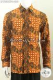 Toko Baju Batik Online, Sedia Kemeja Batik Istimewa Lengan Panjang Full Furing Motif Bagus Proses Cap Tulis 300 Ribuan [LP7228CTF-L]