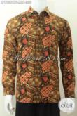 Jual Online Baju Batik Cap Tulis Lengan Panjang Full Furing, Baju Batik Pria Muda Dan Dewasa Untuk Tampil Modis Dan Gaya [LP7235CTF-L]