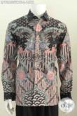 Pusat Baju Batik solo Online, Jual Kemeja Batik Mewah Halus Bahan Sutra Twis Untuk Para Pejabat Dan Eksekutif Harga Di Atas 1 Jutaan [LP7285SUWTF-L]