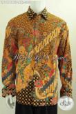 Produk Pakaian Batik Lengan Panjang Kwalitas Halus Bahan Adem Buatan Solo Asli Proses Kombinasi Tuli Harga 305 Ribua [LP7486BTF-XXL]