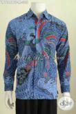 Baju Batik Kerja Model Lengan Panjang, Hem Batik Solo Halus Motif Terkini Kombinasi Tulis Daleman Full Furing Tampil Gagah Dan Berkelas [LP7688BTF-M]