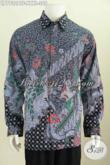 Baju Batik Kerja Size XXXL, Kemeja Batik Kwalitas Premium Bahan Adem Model Lengan Panjang Motif Bagus Daleman Full Furing Hanya 305K [LP7732BTF-XXXL]