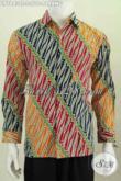 Baju Batik Parang Warna Trendy Kwalitas Bagus Proses Cap Tulis, Busana Batik Lengan Panjang  Istimewa Asli Buatan Solo [LP7843CT-S]