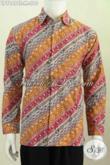 Jual Baju Batik Online, Hem Batik Elegan Berkelas Buatan Solo Proses Cap Tulis Untuk Tampil Makin Menawan [LP7849CT-M]