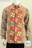 Baju Batik Kantor, Kemeja Batik Halus Motif Bagus Lengan Panjang Elegan Cocok Buat Rapat Proses Cap Tulis Hanya 210K [LP7857CT-L]