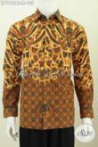 Pusat Baju Batik Solo Online, Sedia Kemeja Lengan Panjang Klasik Kwalitas Bagus Harga Murmer Proses Cap Tulis Untuk Lelaki Muda [LP7862P-M]