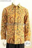 Baju Hem Batik Klasik Istimewa, Kemeja Batik Lengan Panjang Halus Proses Kombinasi Tulis Daleman Full Furing Hanya 430 Ribu [LP8057BTF-L]
