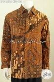 Hem Batik Jumbo Motif Klasik, Baju Batik Berkelas Khas Jawa Tengah Bahan Adem Proses Kombinasi Tulis Di Jual Online 290K [LP8124BTF-XXL]