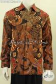 Agen Baju Batik Berkelas Online, Sedia Kemeja Lengan Panjang Klasik Halus Proses Kombinasi Tulis Size L Harga 440K Lengan Panjang Full Furing [LP8302PMF-L]