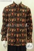 Baju Batik Kemeja Lengan Panjang Istimewa Pakai Furing Berbahan Adem Motif Proses Cap Tulis Asli Buatan Solo, Cocok Untuk Santai Dan Resmi [LP8308CTF-L]