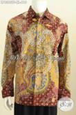 Agen Baju Batik Online Terlengkap, Sedia Design Baju Batik Pria Lengan Panjang Terkini Kwalitas Mewah Harga 600 Ribuan [LP8380TF-XL]