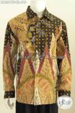 Baju Batik Tulis Pria Lengan Panjang, Hem Batik Premium Untuk Para Executive Dan Pejabat Daleman Full Furing Harga 610K [LP8381TF-XL]