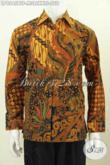 Aneka Pakaian Batik Klasik Pria Muda Dan Dewasa, Hem Batik Kombinasi Tulis Full Furing Lengan Panjang Cocok Untuk Kerja Dan Acara Resmi Tampil Berwibawa [LP8545BTF-M]