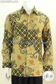 Batik Hem Mewah Halus Buatan Solo Lengan Panjang Full Furing Untuk Kerja Dan Acara Resmi Harga 610K [LP8763TF-L]