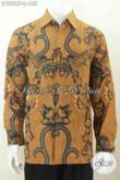 Batik Hem Solo Lengan Panjang, Baju Batik Klasik Printing Halus, Cocok Untuk Rapat Dan Kondangan [LP8954P-L]