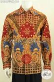 Jual Kemeja Lengan Panjang Mawah Mahal, Baju Batik Full Furing Motif Klasik Proses Tulis Asli, Di Jual Online 610K [LP9217TF-XL]