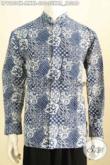 Hem Batik Koko Motif Klasik, Kemeja Batik Istimewa Lengan Panjang Proses Cap, Tampil Modis Dan Bergaya [LP9223CK-M]