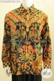 Sedia Kemeja Batik Premium Solo Full Furing Size XXL, Baju Batik Tulis Big Size Desain Resmi, Pas Banget Untuk Rapat Dan Kondangan [LP9263TF-XXL]