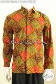 Hem Batik Klasik Motif Sidomukti, Baju Batik Elegan Proses Cap Tulis Model Lengan Panjang Pakai Furing, Tampil Gagah Berwibawa [LP9372CTRF-M]