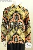 Toko Online Pakaian Batik Premium, Sedia Kemeja Lengan Panjang Berkelas Bahan Adem Motif Klasik Tulis Asli Daleman Full Furing, Cocok Untuk Acara Resmi [LP9532TF-XL]