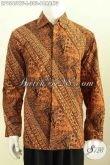 Baju Batik Formal Motif Parang Klasik, Kemeja Batik Full Furing Proses Cap Tulis, Cocok Untuk Acara Resmi Dan Kondangan Hanya 300K [LP9545CTF-L]