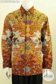 Harga Baju Batik Pria Lengan Panjang Premium 600 Ribuan, Hem Batik Mewah Full Furing Motif Klasik, Cocok Untuk Pejabart Dan Eksekutif [LP9739TF-XL]