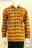 Batik Hem Kombinasi Tulis Lengan Panjang, Baju Batik Istimewa Bahan Adem Motif Klasik Harga 158K [LP9945BT-M]