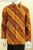 Hem Batik Parang Klasik, Kemeja Lengan Panjang Berkelas Bahan Adem Proses Kombinasi Tulis, Istimewa Untuk Kerja Dan RapatHarga 100 Ribuan [LP9950BT-L]