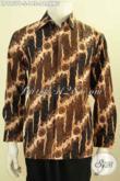 Baju Batik Printing Size S, Kemeja Batik Pria Muda Lengan Panjang Motif Parang, Di Jual Online 148K, Pas Buat Acara Formal [LP9957P-S]