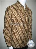 Baju Batik Lengan Panjang Lereng, Kemeja Batik Pria Formal Murah [LP029P]